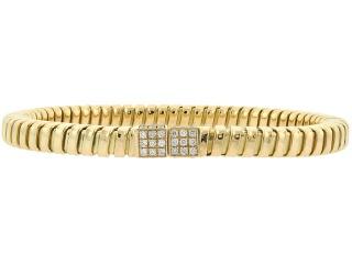 Carlo Weingrill Diamond Tubogas Bracelet in 18K