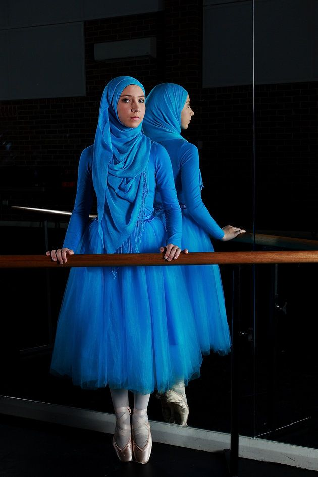 These Photos Capture The Beauty And Grace Of The World's First Muslim Hijabi Ballerina | Huffington Post
