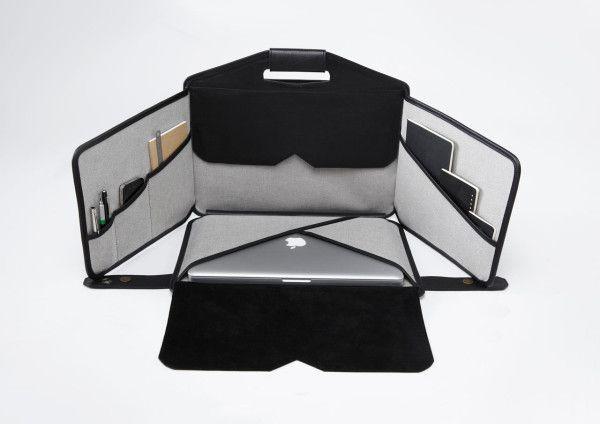 Mobile Workstation & Laptop Bag Rolled into One from piKs design's @LaFonction - via @Design Milk