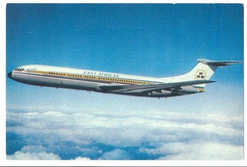 East African Airways Super VC10