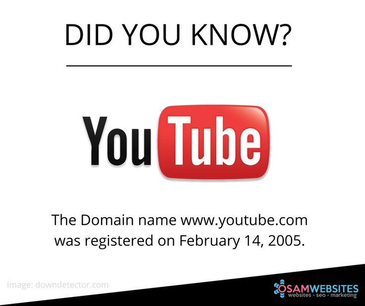 Video sharing site YouTube was founded by Chad Hurley, Steve Chen, Jawed Karim. #TechFacts #YouTube #video #VideoSharing