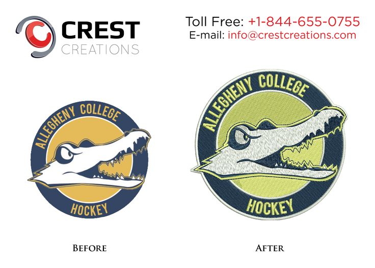 Get #embroidery #digitizing from dedicated designers at best prices by #crestcreations: http://www.crestcreations.com/services.html