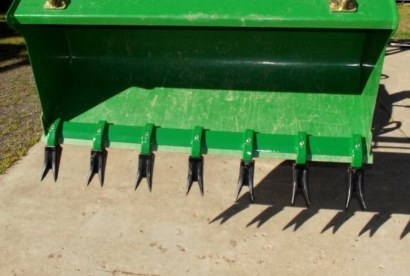 Compact Tractor Attachments | Toothbar for John Deere Front End Loader