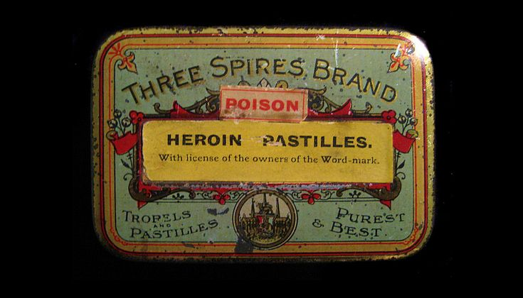 Ah yes, the good old days when you could buy Heroin-flavored Altoids.