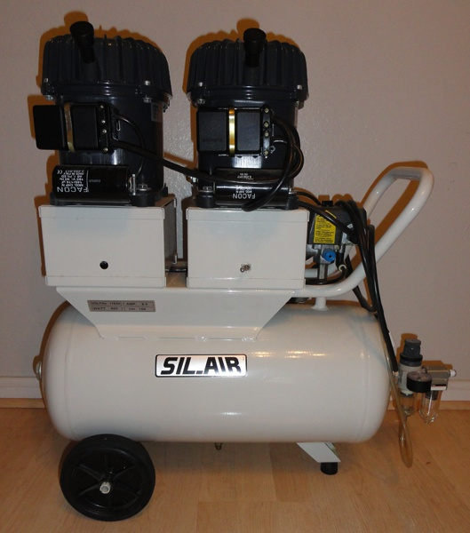 Silentaire 100 24 Val Silent Air Compressor Silent