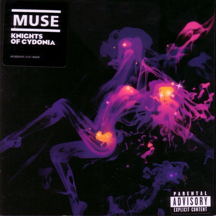 2006 Muse - Knights Of Cydonia (DVD single) [Helium 3 HEL3004DVD] illustration by Jasper Goodall #albumcover