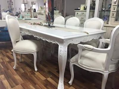 Mebel dan Furniture Jepara: Dining Table Duco White