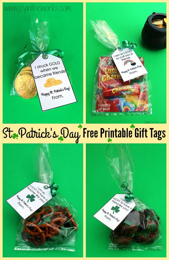 These simple  St. Patrick's Day gifts are perfect for friends, family, teachers or your own family! From dipped Oreos and pretzels to chocolate gold coins to Lucky Charms lip balm - these all would make the perfect token gift and are a great way to show s