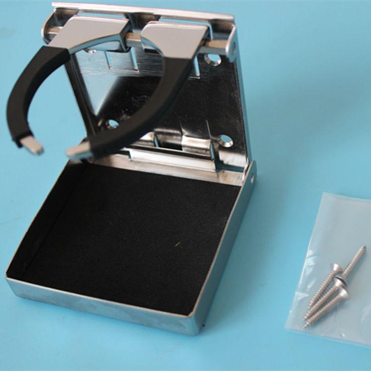 Wholesale 8 pcs Universal Adjustable Cup Holder Stainless Steel Drink Bottle Holder Boat Car RV
