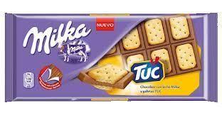 MILKA au biscuit TUC 87gr