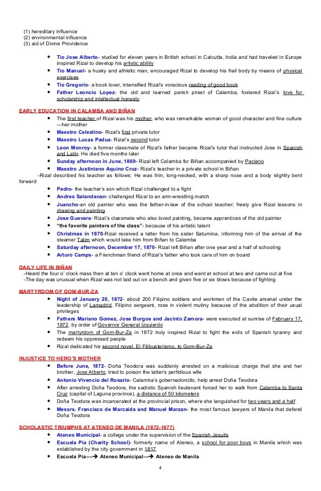 Jose Rizal Resume Templates Pinterest
