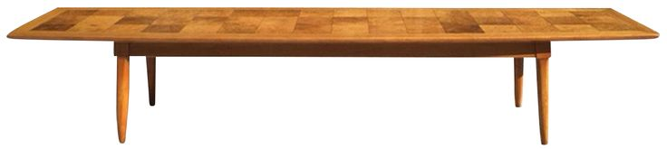Tomlison Sophisticate Surfboard Coffee Table on Chairish.com