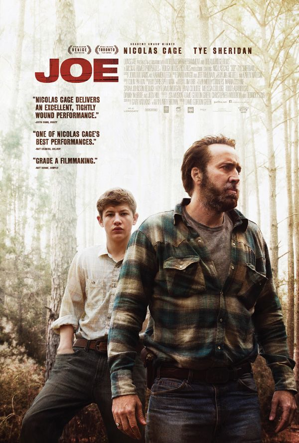 Nicolas Cage And David Gordon Green Reconnect With Heavy Drama In New 'Joe' Trailer