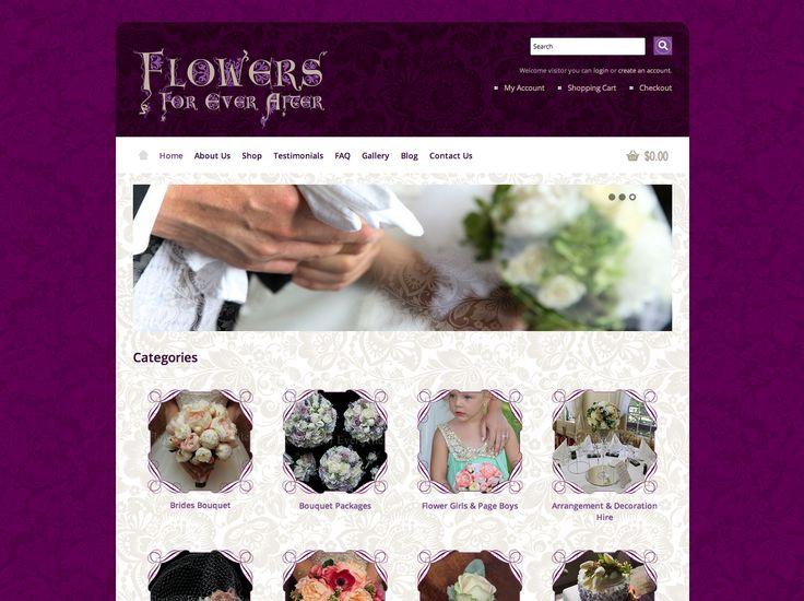Flowers For Ever After website http://flowersforeverafter.com.au/