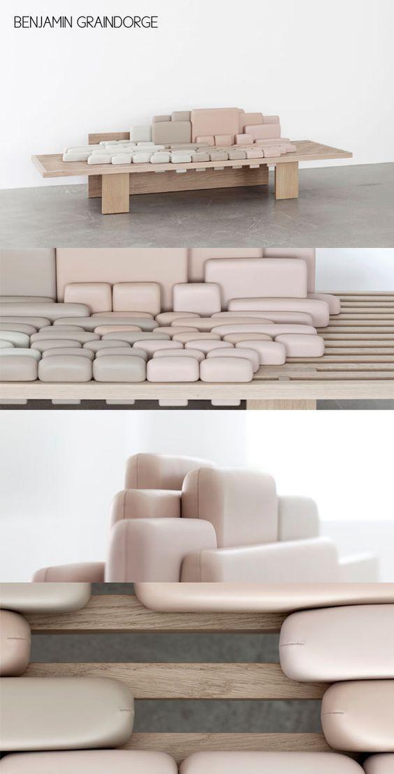 Bildergebnis für sofa escape benjamin graindorge