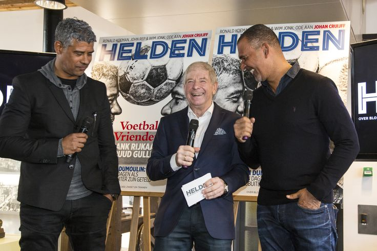 Football and fun with legends Ruud Gullit and Frank Rijkaard Helden Magazine, in stores per March 21. #ajax #acmilan #rossoneri #football #media #heldenmagazine #ruudgullit #frankrijkaard #igorbeuker #fritsbarend