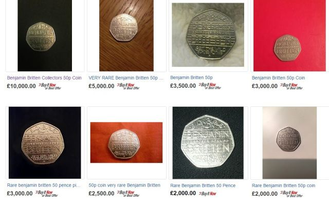 """So I thought my 50p coin was worth £800… One of the most regular questions we get at Change Checker is: """"I have a Benjamin Britten 50p – how much is it worth?""""  #ChangeChecker #50p"""
