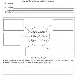 29 best economics unit images on pinterest school media literacy money income budget includes graphic organizers and writing prompts freebie ibookread Download