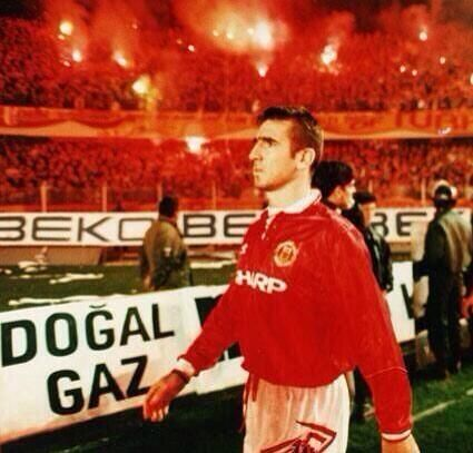 Eric Cantona, 1993. Welcome to Hell!