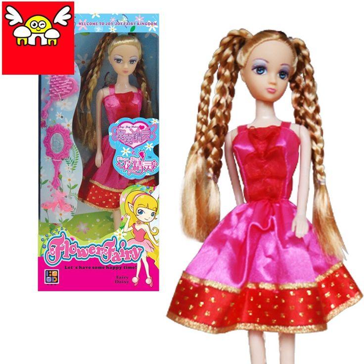 Per barbie doll bambini ottimo regalo set sogno armadio gioco fai da te  Set pettine specchio scarpe per la bambola principessa regalo di compleanno giocattoli del bambino(China (Mainland))