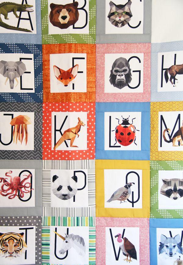 Alphabet Handwriting Hoffman Fabric Digital Print Multiple Sizes Cotton