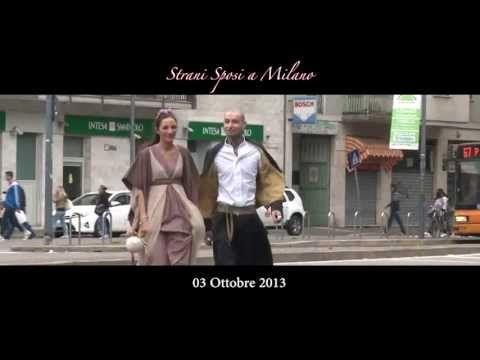 StraniSposi a Milano, l'evento itinerante dei matrimoni alternativi - YouTube