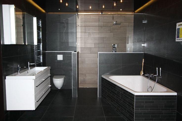 Mogelijke badkamer opstelling voorkeur voor lichte kleuren voorbeeld te donker de - Donker mozaieken badkamer ...