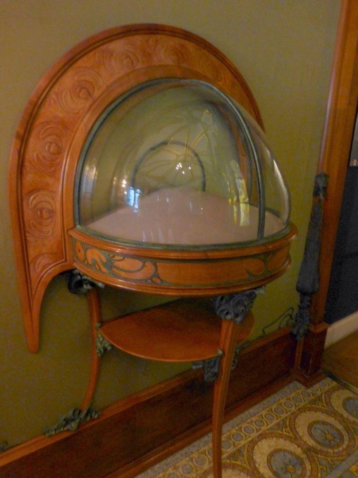Art Nouveau table ...Designed by Mucha