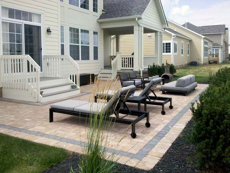 Paver Designs For Square Patio Google Search Amazing