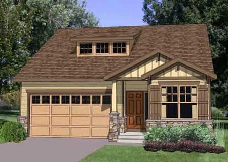 Plan 12733ma 2 Story Craftsman Bungalow With Options