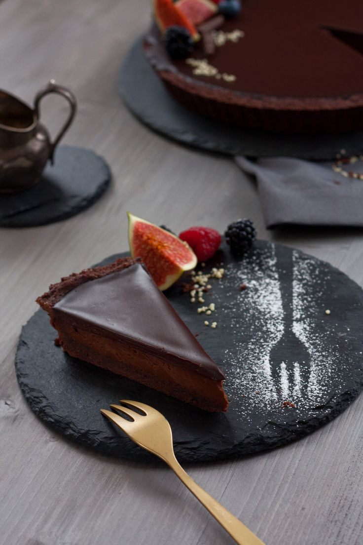 Aria Chocolate Tart   Foodlovin'