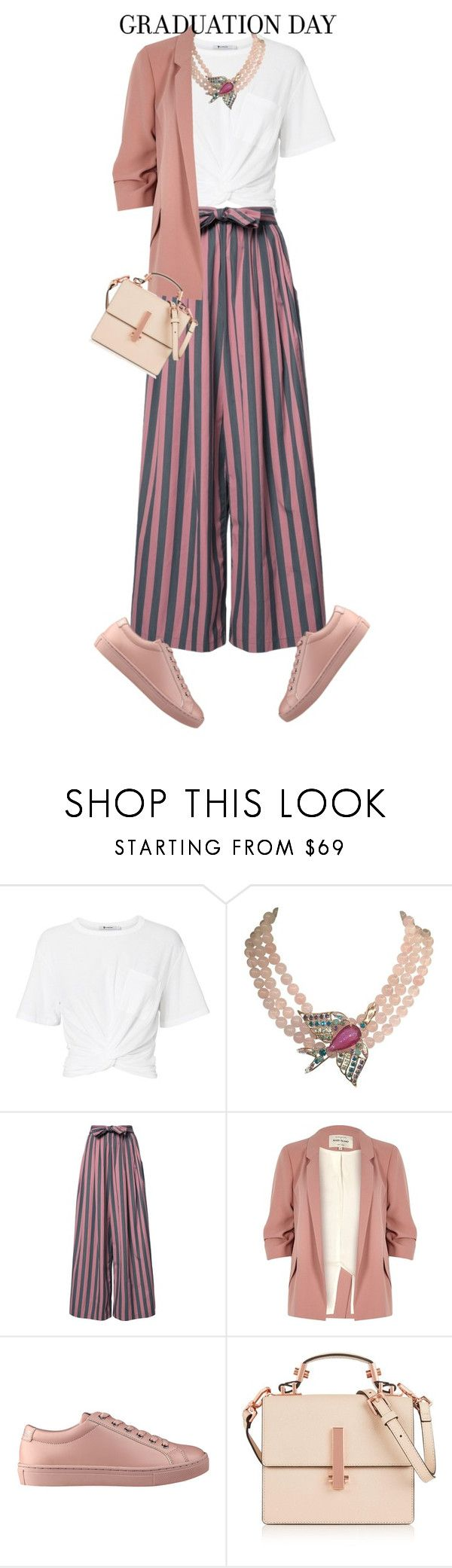 """""""graduation"""" by live-ska on Polyvore featuring T By Alexander Wang, Philippe Ferrandis, Tome, River Island, GUESS, Kendall + Kylie and Graduation"""