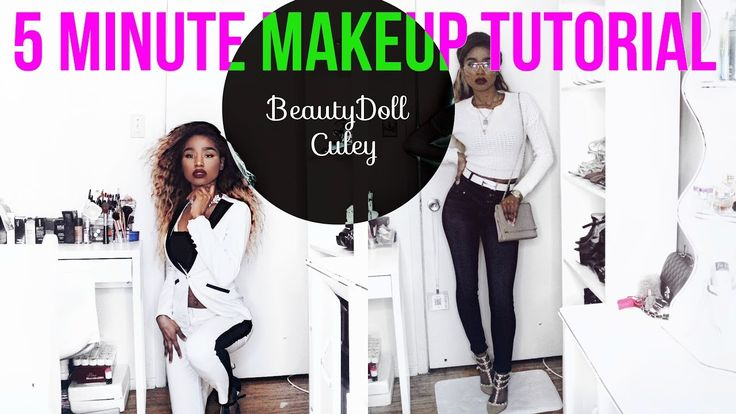 5 Minute Makeup Tutorial - BeautyDoll Culey