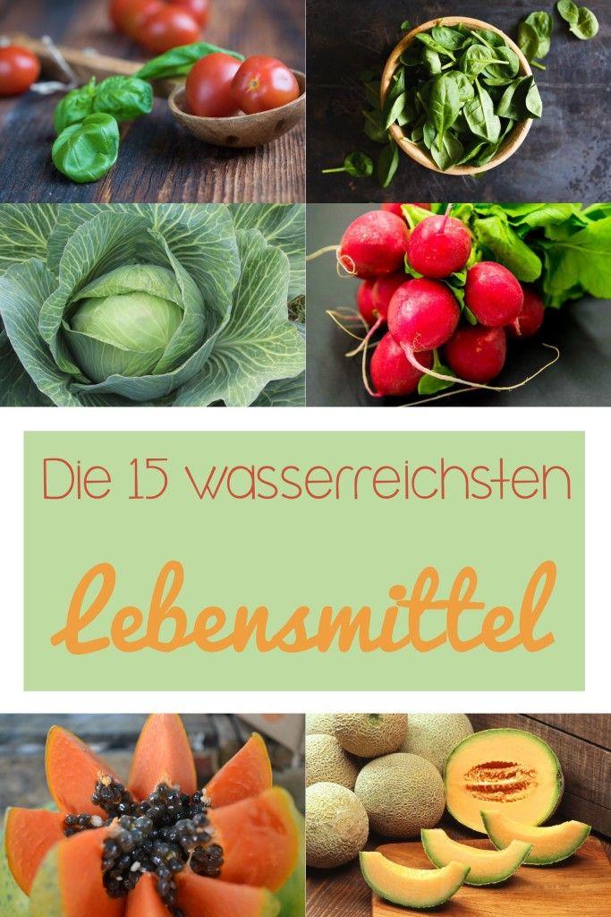 C&B with Andrea - Die 15 wasserreichsten Lebensmittel - www.candbwithandrea.com - Sommer16