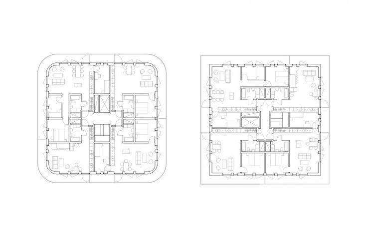 Kjellander Sjöberg - SalaBacke - Floor plans