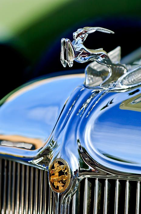 ..._1933 Chrysler Imperial Hood Ornament  - Car Photography by Jill Reger..Re-pin brought to you by #CarInsuranceagents at #HouseofInsurance in #EugeneOregon