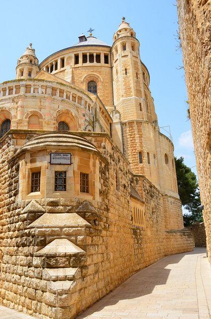 Hagia Maria Sion Abbey, also known as Dormition Monastery - Palestine.