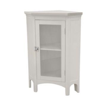 Elegant Home Fashions Corner Floor Cabinet Kohl S Cabinet Shelving Bathroom Corner Cabinet