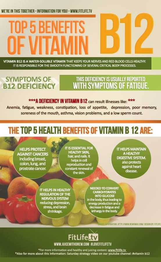 Benefit from #Vitamin #B12 injections