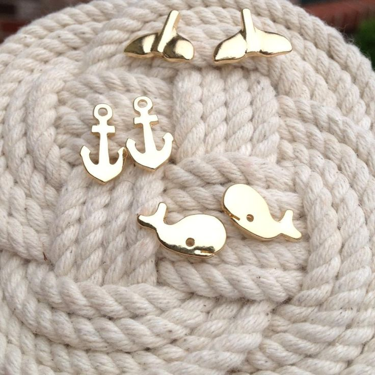 Whale of a Time earrings