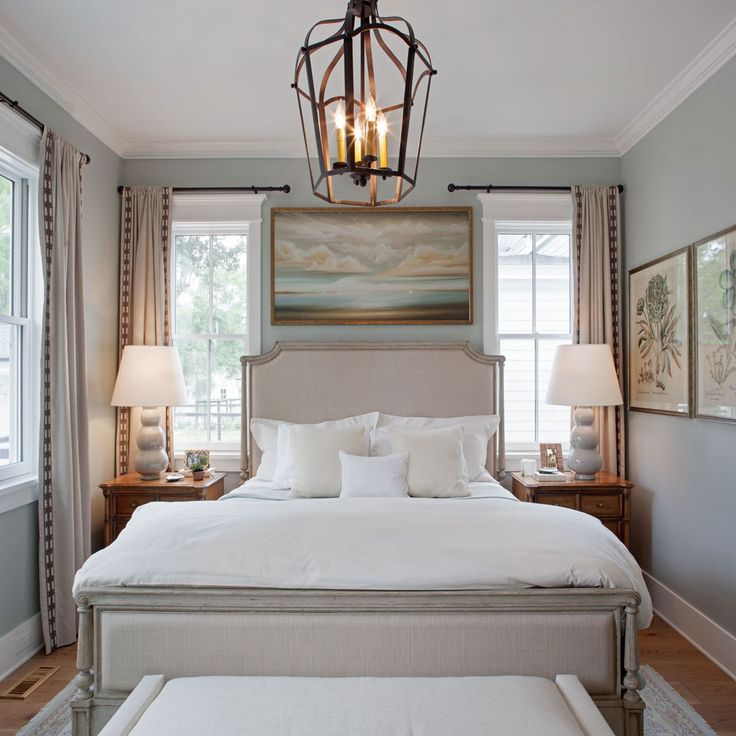 Master Bedroom - Southern Living Inspired Home at Habersham - Southern Living