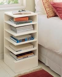 Love this bedside table...: Decor, Ideas, Nightstand, Book, Bedside Tables, Furniture, Bedroom, Design, Night Stand