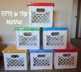 Fifth in the Middle: Throwback Thursday - Milk Crate Seats
