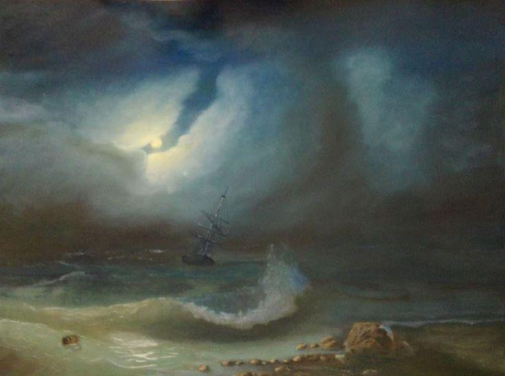 Aivazovsky Study #2
