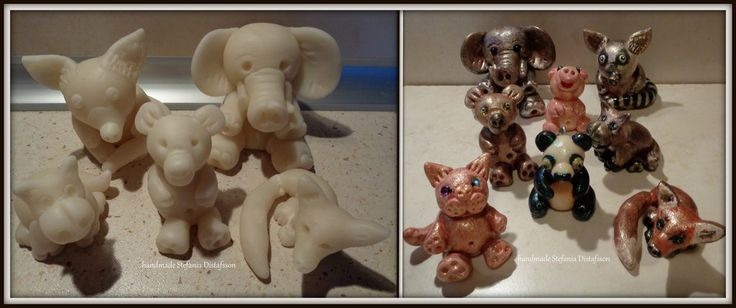 Creatures of cold porcelain by MrsEfi