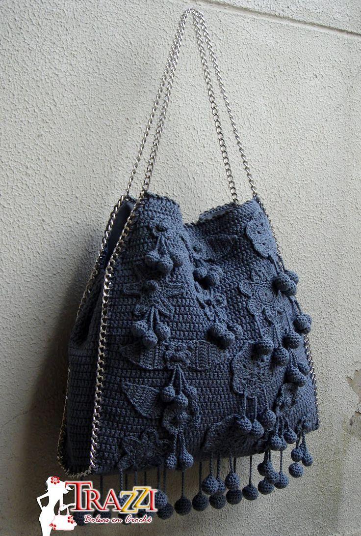 Catiele Crochê: Bolsa Similar Stella Mccartney - New Grey