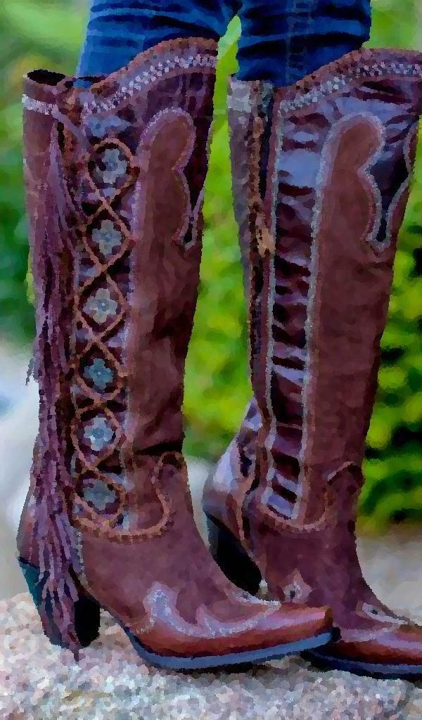 348ed998dbb Fashionable cowboy girl boots for the modern women. Amazing cowgirl ...
