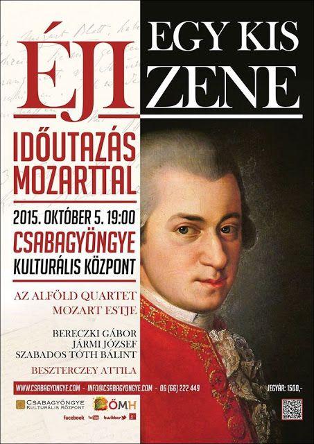 Plakát104: Egy kis éji zene - Időutazás Mozarttal