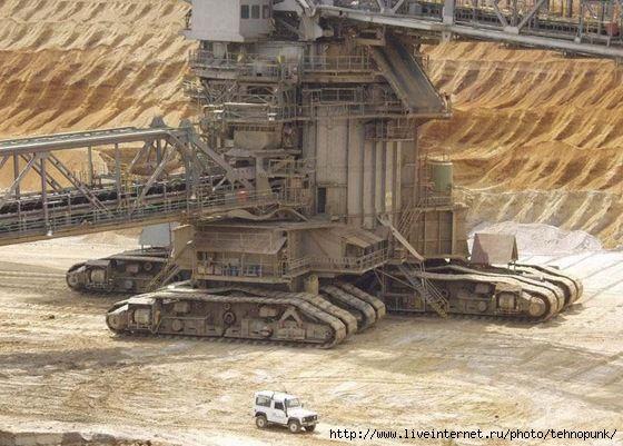 гигантские машины