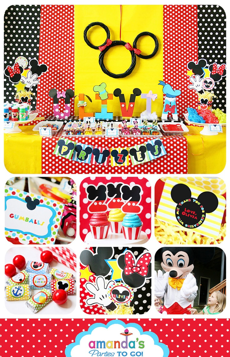 78 Best Images About Mickey Mouse Clubhouse Birthday Party